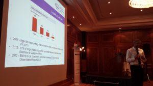 Freddie McBride of CEPT presenting on service portability