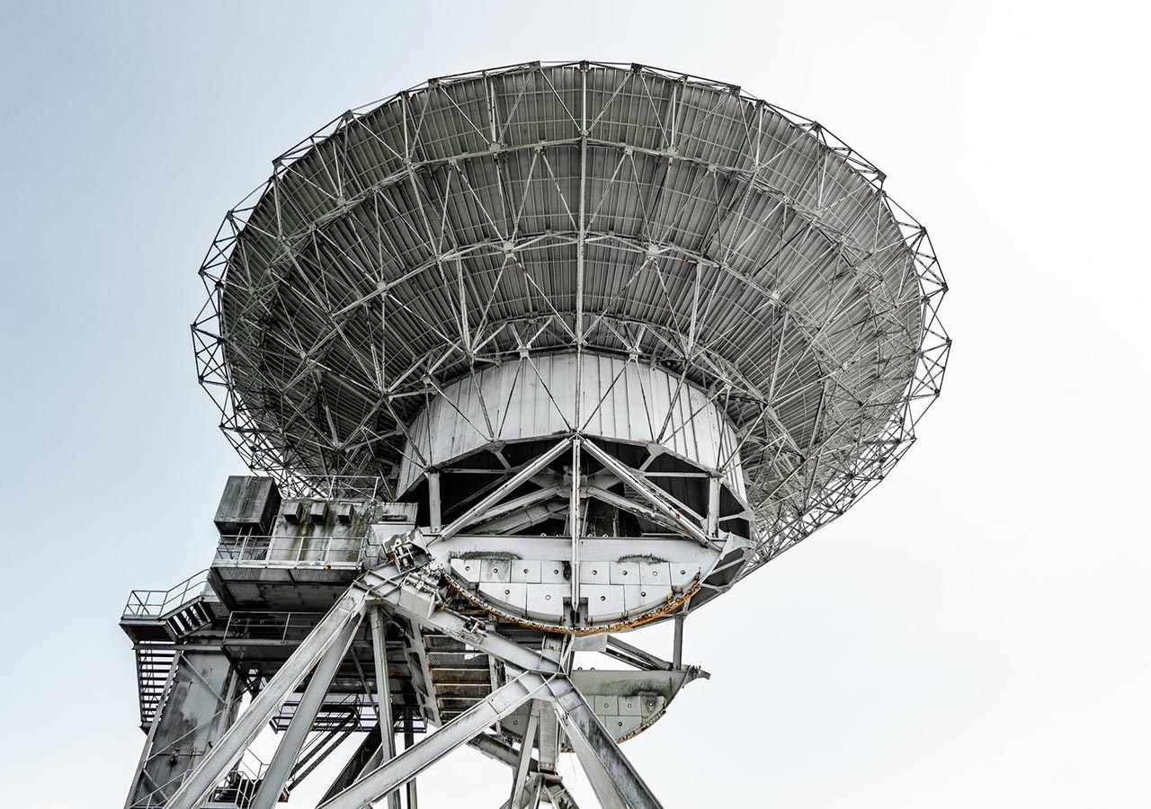 Telecom network tower. Telecoms is one of the many industries Idiro works with